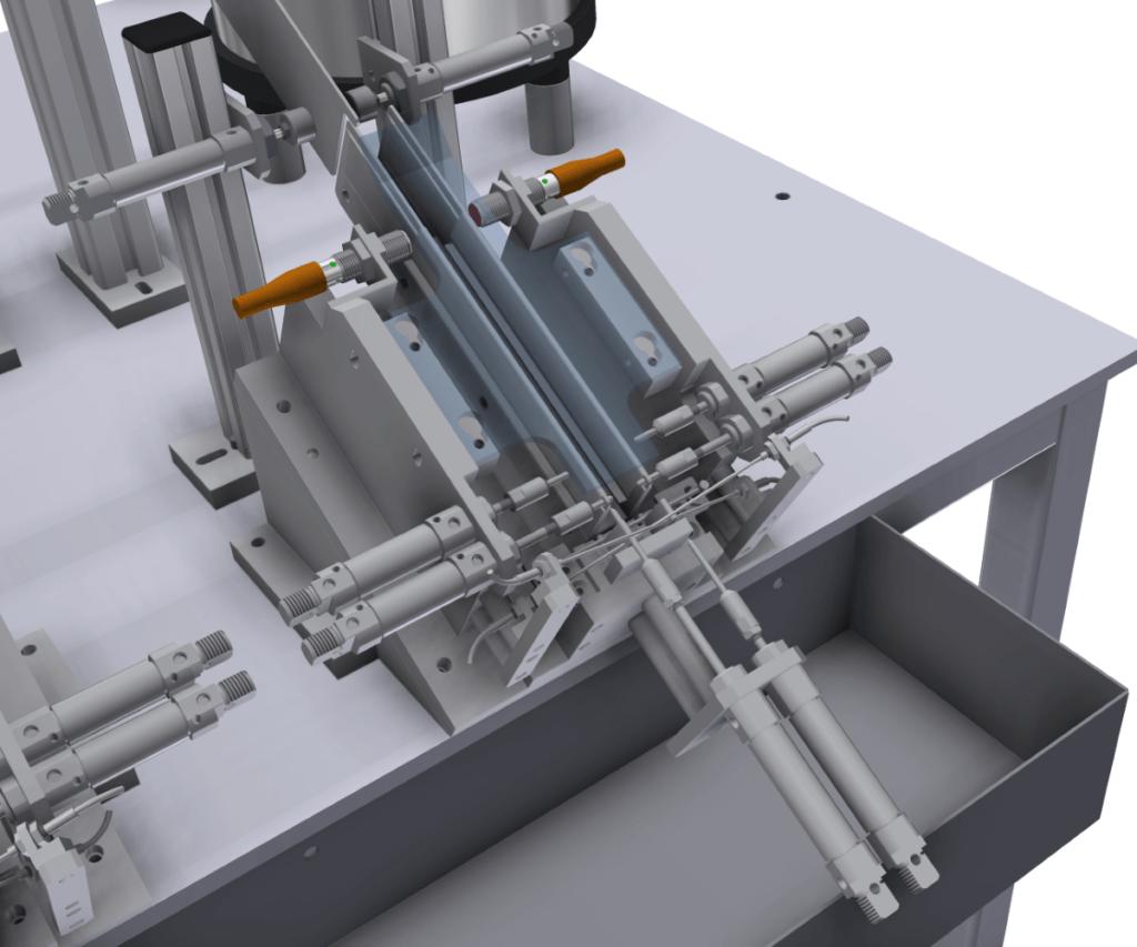Máquina especial CAD