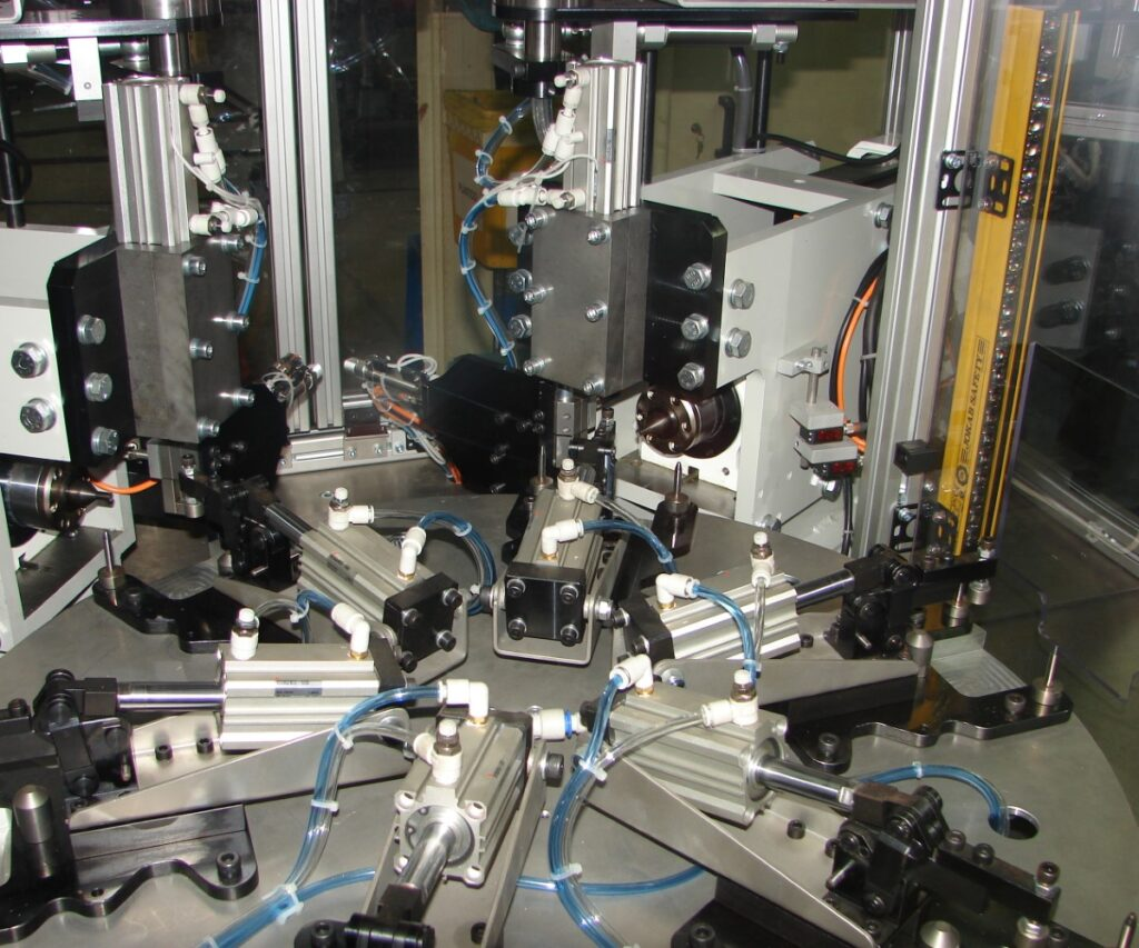 Máquina transfer rotativa
