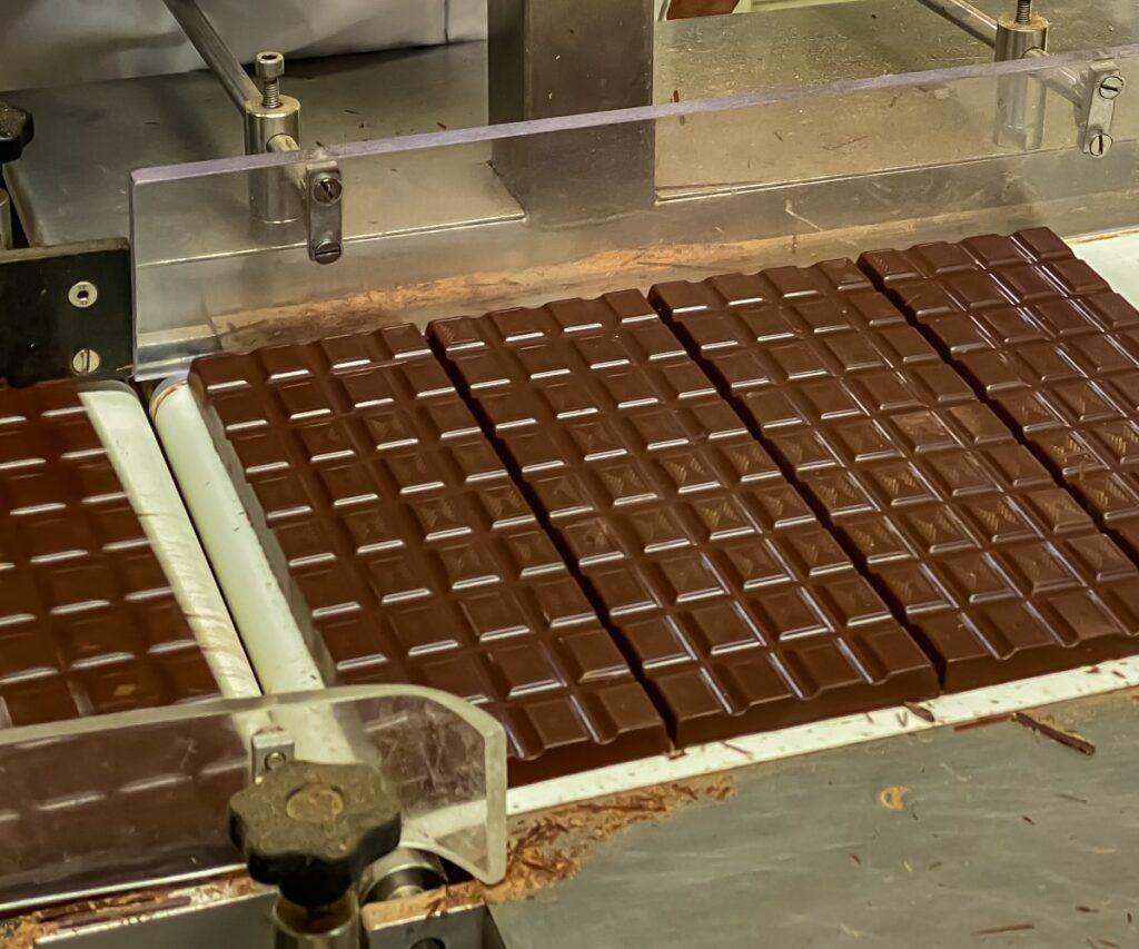 indústria chocolateira